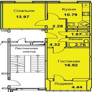 фото 2комн. квартира Тольятти Приморский б-р, д. 57